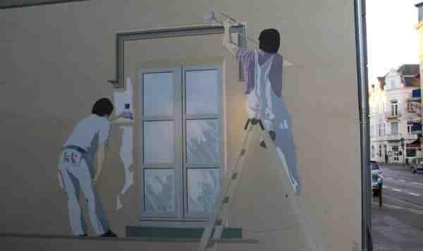 Quel est le secteur d'activité d'un peintre en bâtiment ?